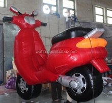 Attractive Advertising Oxford Giant 3m Red Inflatable Motorcycle Model For Sale W699