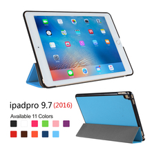Flip Cover Case For iPad Pro, colorful leather cover case for Apple iPad Pro 9.7 inch