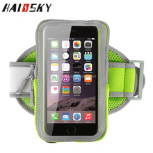HAISSKY Universal Sports Armband Case For iPhone 7 6 6S Plus For Galaxy S7 S6 Running Arm band