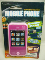 Battery operated mobile phone