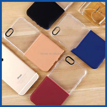 New Design 2 in1 Mobile Phone case TPU PC Cover For I7 /I7 Plus &Half Indecision Chimess And Half Hard Cellphone Case