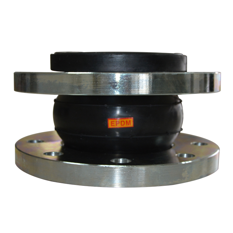 galvanized steel flanged double sphere epdm rubber expansion joint