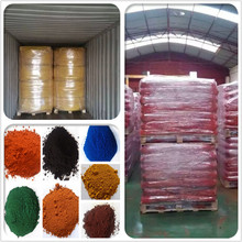 SGS certified factory hot sale iron oxide pigment used for interlock tiles