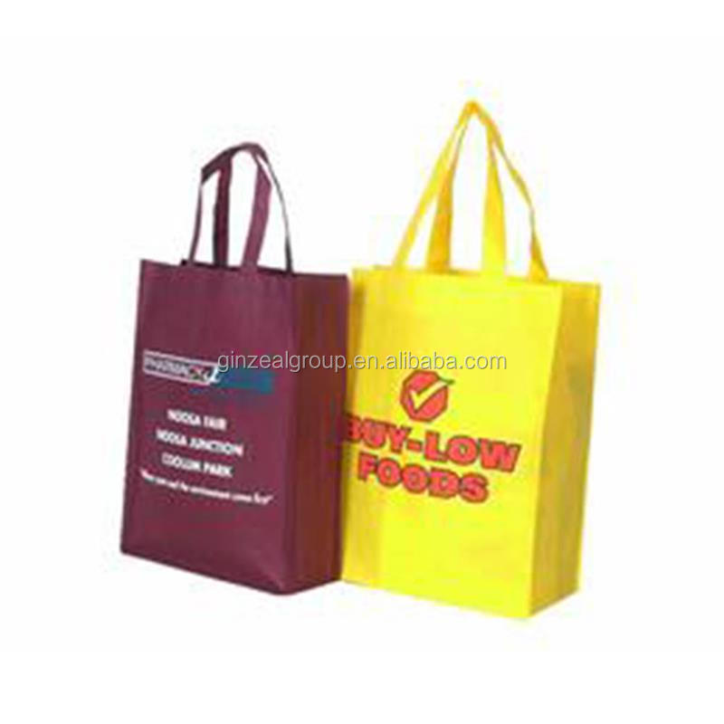 Wholesale Good Cutting and Sewing Printing Non-woven Shopping Bag