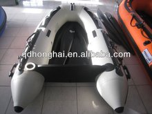inflatable pontoon boat fishing boat