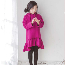 Latest Design Sport Wear Hooded Small Girls' Child Dress