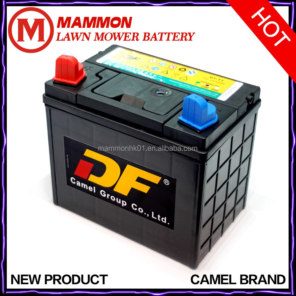 Top brand Camel lawn mover mower battery 12V 30AH for sale