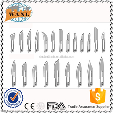 FDA CE Sterile Sharps Point surgical scalpel blade