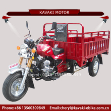 Guangzhou Kavaki Motor Factory Moto Tricycle Motorcycle Truck 3-wheel Tricycle for Adults
