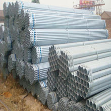 China supplier BS1387 hot dipped weight of gi pipe for structure