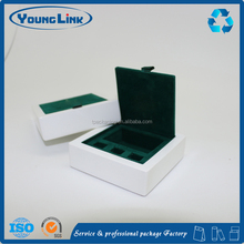 high quality handmade white lacquer wooden gift box