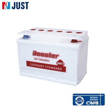Japanese Booster Lead acid 12v 75ah car battery manufacturers