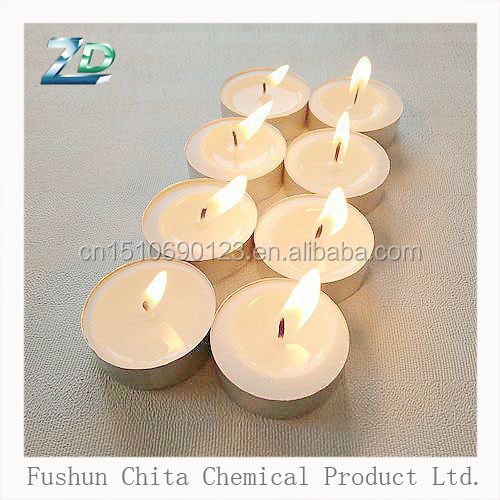 mini white tealight candle fragrance 100% palm wax candle