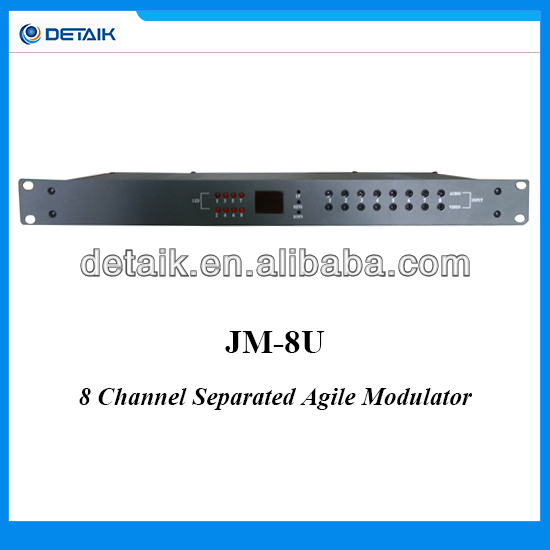 8CH Agile Modulator / 8 Channel CATV Demodulator