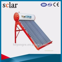 Hot selling balcony hanging solar system non pressure solar powered water heater