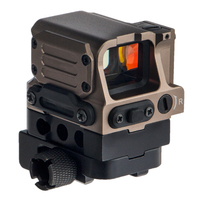 ANS FC1 red dot sight for tactical air riflescope hunting for 20mm mount BK