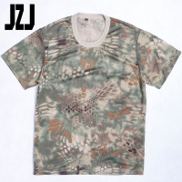 Hot Selling wholesale US army long sleeved 100% polyester fabric round neck tactical t shirt