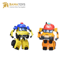 Hot sell action figure transform robot car robocar poli