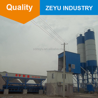 elba small used concrete batching batch plant HZS40 price for sale