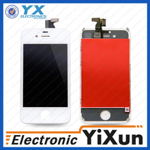 Free shipping for apple iphone 4 s original lcd touch screen, lcd screen and digitizer glass for iphone 4s fr5 r