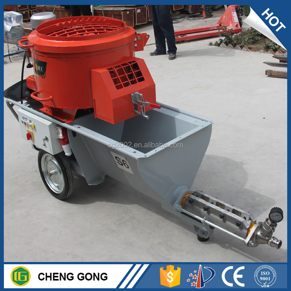 Famous Brand China Stucco Sprayer Price / Lime Cement Spraying Machine