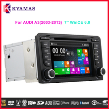 7 inch Touch Screen Car GPS Navigation Audio System for Audi A3(2003-2013) Car DVD Player
