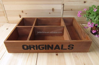 unique design natural wood storage box for home decoration and home use