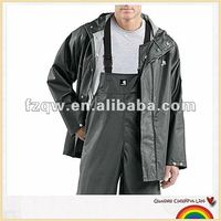 worker industrial pvc raincoat