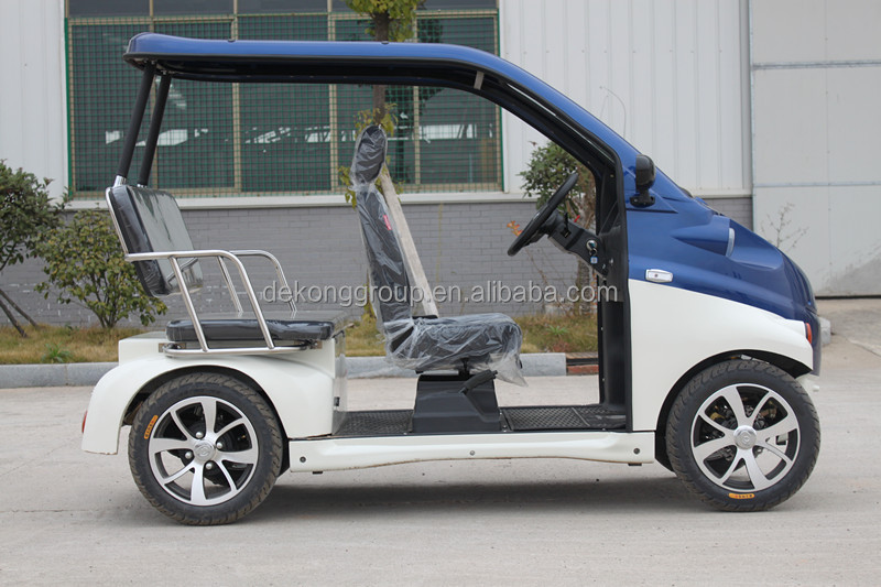 3 seater club golf cart electric vehicle