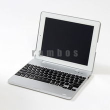 Aluminum wireless bluetooth keyboard for ipad 2 3 4