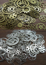 Steampunk Gears Cogs Discs for Assemblage Altered Art Mixed Media