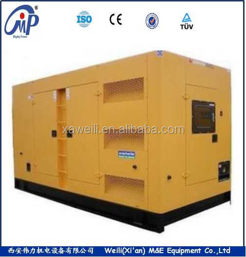 Silent type KANGWO K36T series 800KW diesel generator set factory price to sale