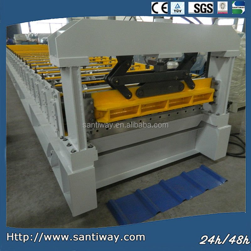 High quality tapered roof panel roll forming machine