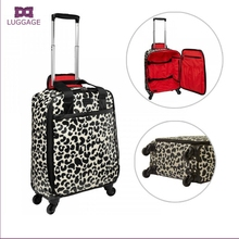 cabin size travel luggage bag print canvas ladies 20 luggage