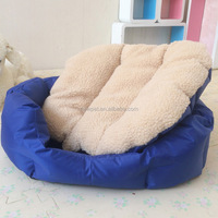 Direct factory hot selling colorful pet bed oxford pet dog bed