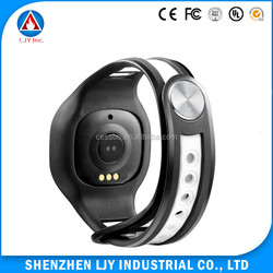 Plastic Wristband With Led Light, Sport Fitness Control Bracelet, Signature 3D Pedometer Smart Watch heart rate monitor