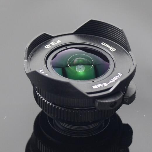 8mm F3.8 Ultra Wide Angle fisheye Lens for Mirrorless Camera