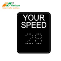 Han Kun radar speed feedback instrument can be customized led two-color highway speed digital display