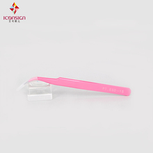 Color tweezers precision twzzers for eyelash extension