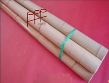 Clean yellow nice looking decoration raw mao bamboo pole/ big bamboo pole