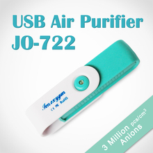 Special USB Air Purifier JO-722 with 3 million negative ion concentration