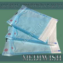 Self Seal Sterilization Pouch With ISO 13485, CE Certification