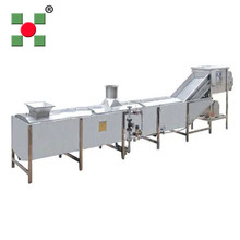 Fruit and Vegetable blancher Steam blanching machine blancher machine potato blanching machine