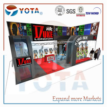 U shape /one side open exhibition booth/stand from Shanghai Yota