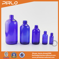 1/2 oz 1oz 2oz 4oz 8oz 16oz Boston round glass bottle cobalt blue pharmaceutical bottles