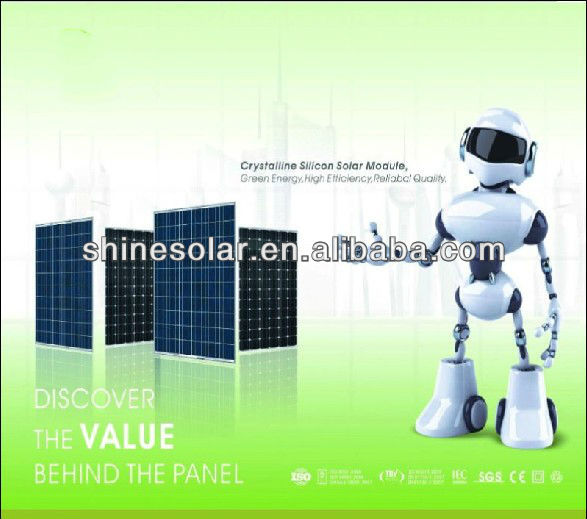 Photovoltaic cell Module 90 watt Poly Solar Panel