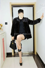 Janefurs Natural Color Mink Fur Common Style Coat/Scheduled Style