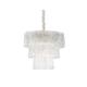 Rectangular Ceiling Light Design Glass Chandelier for Home Villa Hotel Contemporary Chandeliers