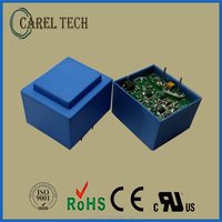 CE ROHS approved encapsulated 110V ac to dc 3.3V 5V pcb mounted power supply