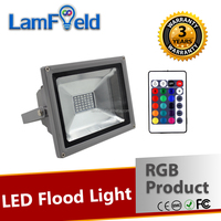 Wonderful IR Control 20W RGB Flood Light For LED Outdoor Lighting